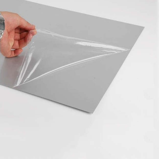 PE Transparent Low to High Tack Electrostatic Protective Film